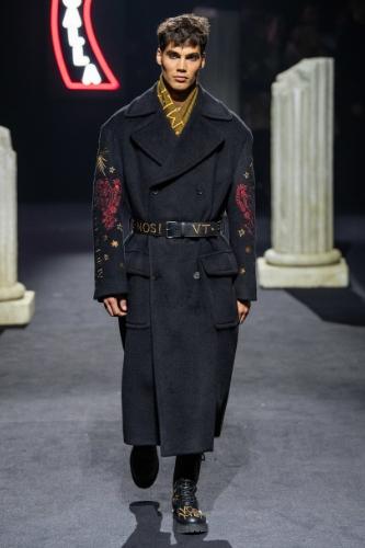 męski płaszcz na jesień 2019