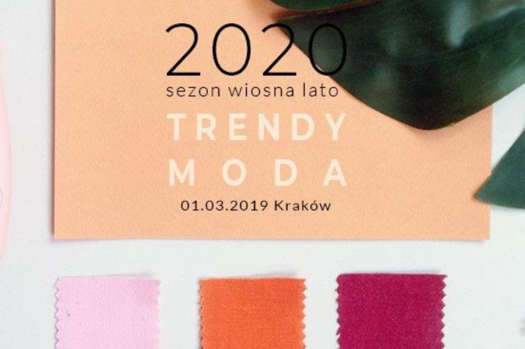 afee1d7d37 Szkolenie z trendów w modzie na wiosnę lato 2020 - moda damska ...