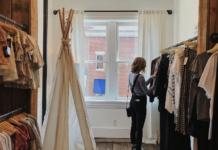 komisy odzieżowe, vintage, moda z drugiej ręki