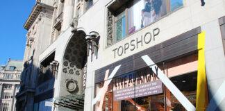 topshop Oxford street ulica handlowa